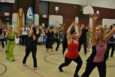 Zumbathon for Adam Beck School 09