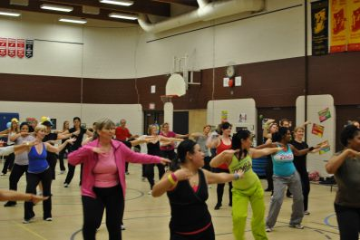 Zumbathon for Adam Beck School 41