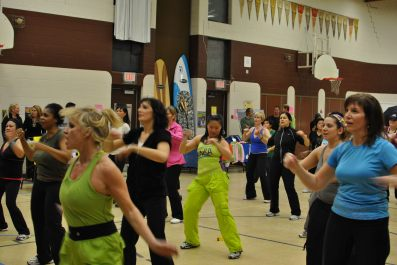 Zumbathon for Adam Beck School 56