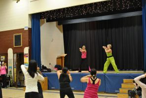 Zumbathon for Adam Beck School 77
