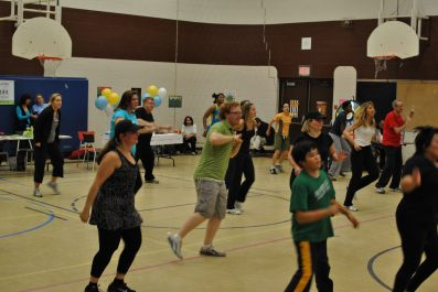 Zumbathon for Adam Beck School 78