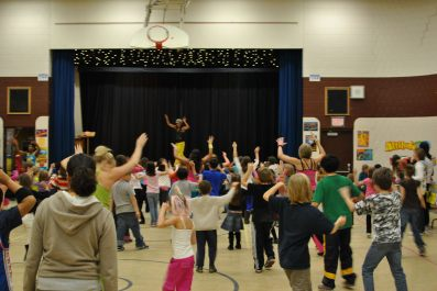 Zumbatomic for Adam Beck School 09