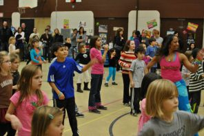 Zumbatomic for Adam Beck School 10