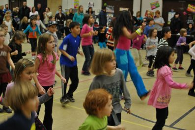 Zumbatomic for Adam Beck School 12