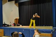 Zumbatomic for Adam Beck School 13