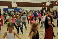 Zumbatomic for Adam Beck School 14