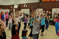 Zumbatomic for Adam Beck School 15