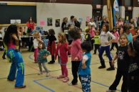 Zumbatomic for Adam Beck School 18