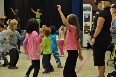 Zumbatomic for Adam Beck School 20