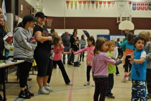 Zumbatomic for Adam Beck School 21