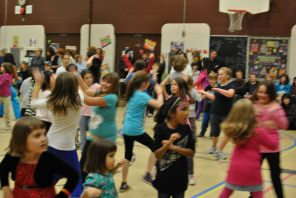 Zumbatomic for Adam Beck School 22