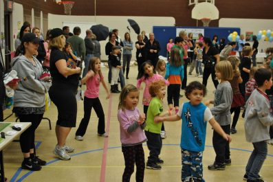 Zumbatomic for Adam Beck School 23
