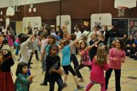 Zumbatomic for Adam Beck School 24