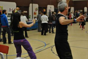Zumbatomic for Adam Beck School 27