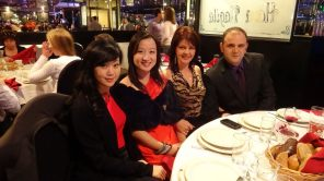 Christmas Party 2011 with Raluca 04