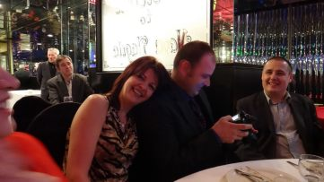 Christmas Party 2011 with Raluca 21
