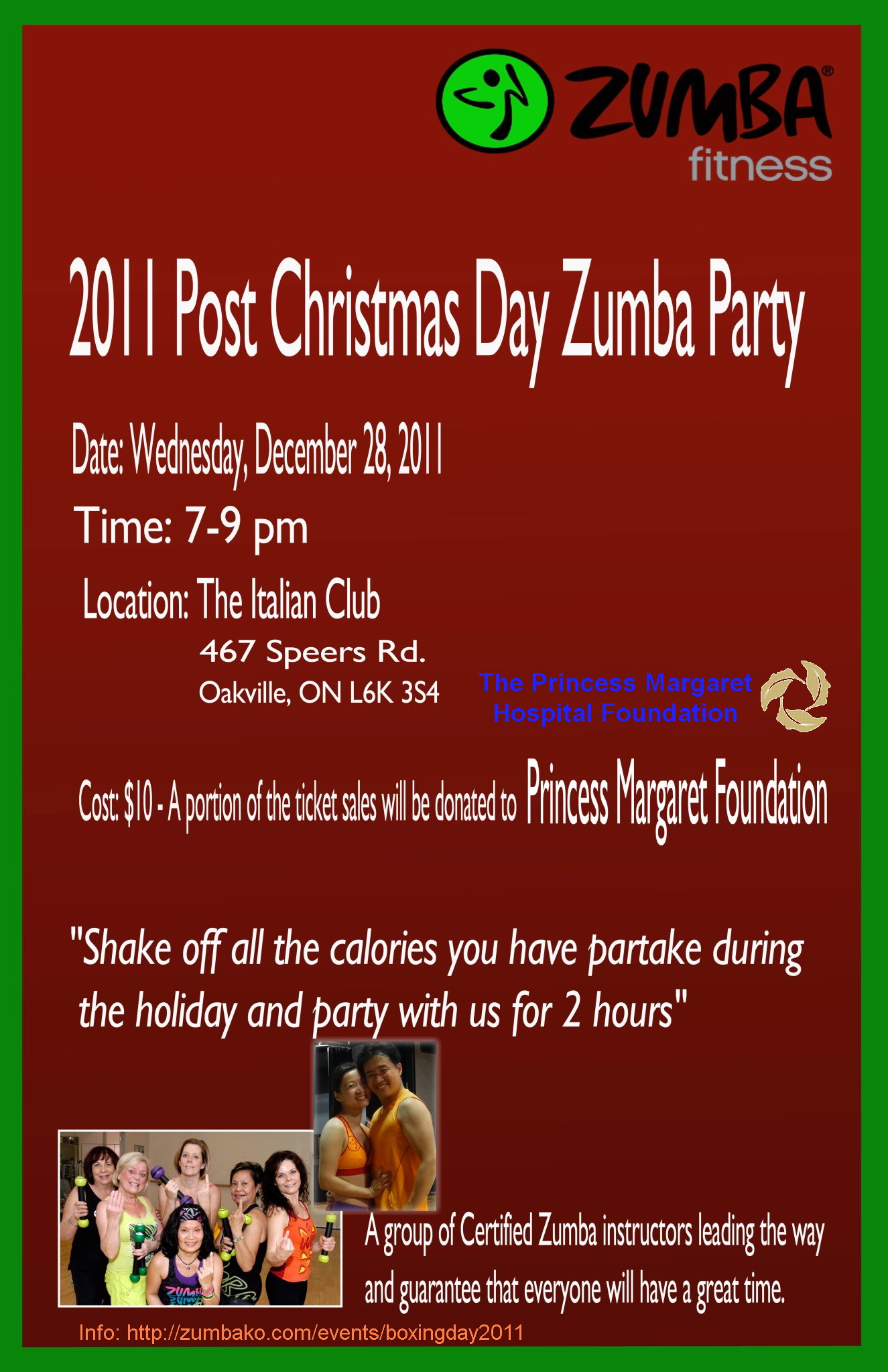 Zumba Christmas Party Images.Boxing Day 2011 Zumba Party Dec 28 2011 Zumba Fitness
