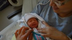Baby Zoey Birth 12