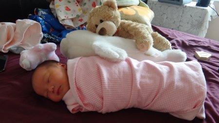 Baby Zoey Birth 20