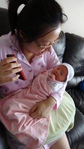 Baby Zoey Birth 33