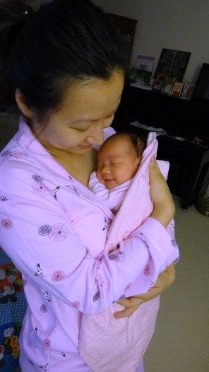 Baby Zoey Birth 35