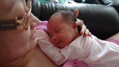 Baby Zoey Birth 41