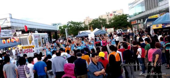 ZKo FlashMob TMYC Richmond Hill Carnival 2012 Time Square 13
