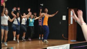 Zumba for Prostate Cancer Cure 2012Nov_21