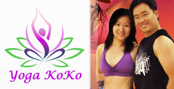 Yoga with KoKoDanceFitness Logo & Portrait