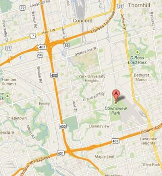 Gina Grant Toronto MasterClass Map