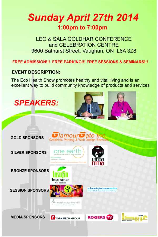 Eco Health 2014 Flyer 1