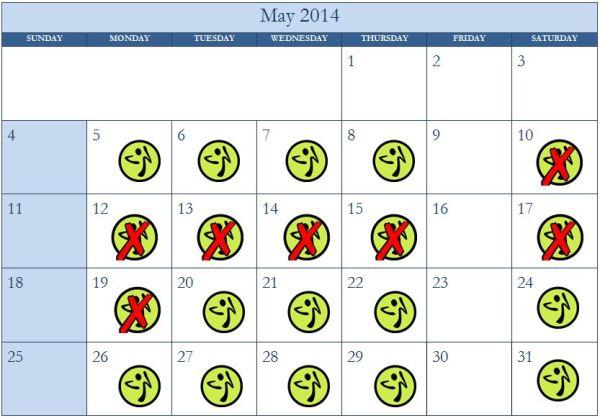 ZKo Holiday 2014 Vacation Schedule Calendar