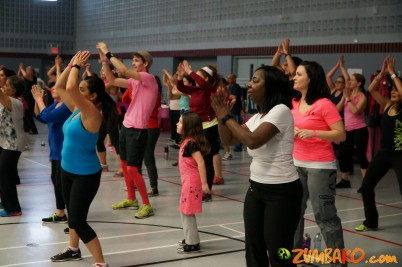 Zumba Fundraiser for Angels like Ava 2015_11