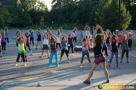 Zumba Ko Outdoor Party June 2015