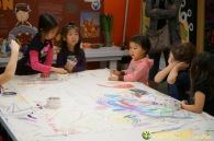 Kendall 4yo Birthday Painting Party 002