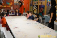 Kendall 4yo Birthday Painting Party 005