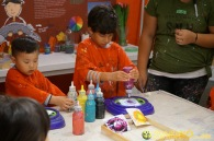 Kendall 4yo Birthday Painting Party 013