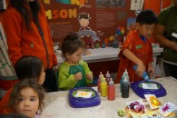 Kendall 4yo Birthday Painting Party 015
