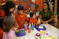Kendall 4yo Birthday Painting Party 016