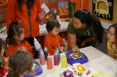 Kendall 4yo Birthday Painting Party 019