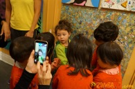 Kendall 4yo Birthday Painting Party 057