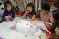 Kendall 4yo Birthday Painting Party 078