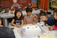 Kendall 4yo Birthday Painting Party 084