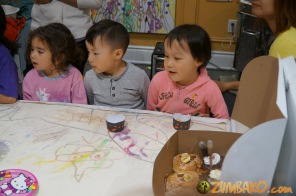 Kendall 4yo Birthday Painting Party 086