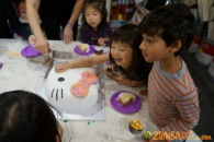 Kendall 4yo Birthday Painting Party 091
