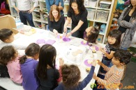 Kendall 4yo Birthday Painting Party 092
