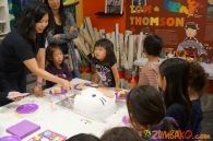 Kendall 4yo Birthday Painting Party 094