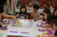 Kendall 4yo Birthday Painting Party 095