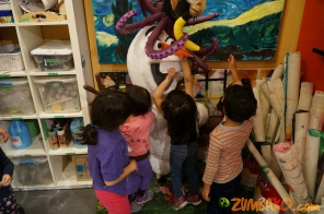 Kendall 4yo Birthday Painting Party 109