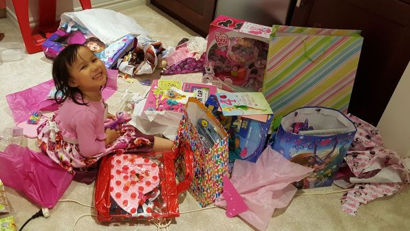 Zoey 4yo Birthday Presents